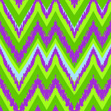 Simple seamless modern chevron zig zag pattern Stock Image