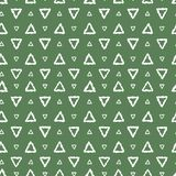 Simple seamless pattern abstract triangles. Stock Images