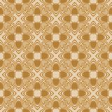 Simple seamless pattern. Brown illustration. Seamless accurate pattern with simple design. Illustrations Stock Photography