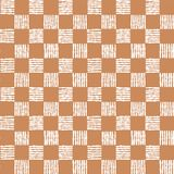 Simple seamless pattern of chess cells. Stock Image