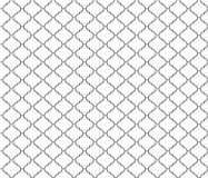 Simple seamless pattern clover Royalty Free Stock Photo