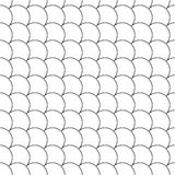 Simple seamless pattern diagonal fish scales Stock Photos