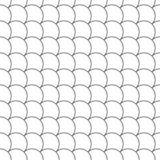 Simple seamless pattern diagonal fish scales Stock Photos