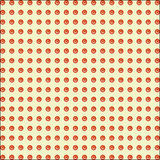 Simple seamless pattern in a row. Royalty Free Stock Photos
