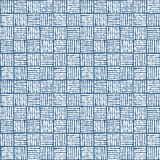 Simple seamless pattern textile cells. Stock Images