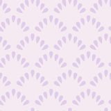 Simple seamless pattern of tracery shell.  Royalty Free Stock Photos