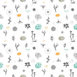Simple seamless pattern Royalty Free Stock Image