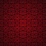 Simple seamless red wallpaper Royalty Free Stock Images