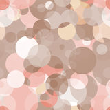Simple seamless vector pattern - circles Royalty Free Stock Photography