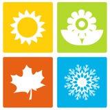 Simple Seasons Royalty Free Stock Photos