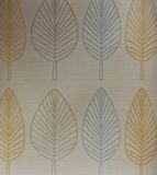 Simple shape leaves wallpaper Stock Photography