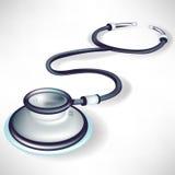 Simple single stethoscope Royalty Free Stock Image