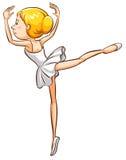 A simple sketch of a ballerina Stock Photos