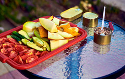 Simple Snack outdoors Royalty Free Stock Photography