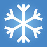 Simple Snow Flake Royalty Free Stock Photo