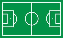 Soccer Pitch Illustration royalty free illustration