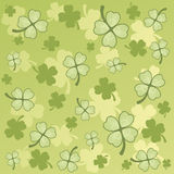 Simple St. Patrick's pattern Royalty Free Stock Photo