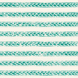 Simple striped vintage background. The green strip in the form of braids.Vector illustration Stock Images