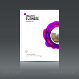 Simple style brochure. Flyer promotion. Royalty Free Stock Photography