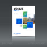 Simple style brochure. Flyer promotion. Stock Images