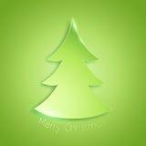 Simple style christmas tree background Stock Photos