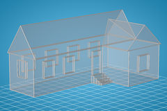 Simple Style house Stock Image