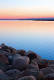 Simple sunset Royalty Free Stock Photography