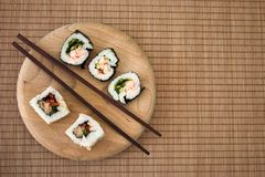 Simple sushi Stock Image