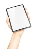 Simple tablet with copy space Royalty Free Stock Image