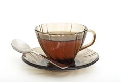 Simple tea cup Stock Photography