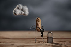 Simple Things - Cloud Security Royalty Free Stock Photo