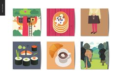 SImple Things - Postcards Royalty Free Stock Photography