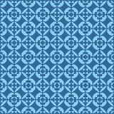 Simple tiles flower pattern background Royalty Free Stock Photo