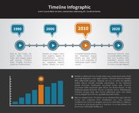 Simple Timeline Inforgraphic Design Royalty Free Stock Photo