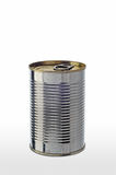 Simple Tin Can Royalty Free Stock Photo