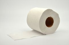 Simple toilet paper Royalty Free Stock Photos