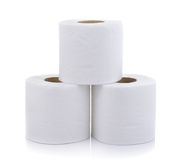 Simple toilet paper Stock Images