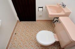 Simple toilet room Stock Image