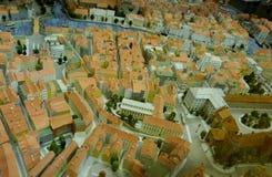 Toy city miniature - Kaliningrad Königsberg royalty free stock photo