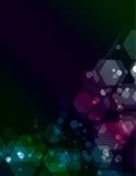 Simple transparent Polygon background Stock Photos