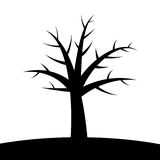 Simple tree Stock Photography