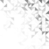 Simple triangular pattern Stock Photography