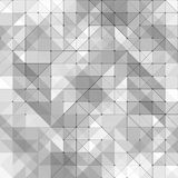 Simple triangular pattern Royalty Free Stock Image