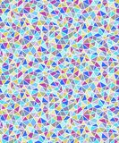 Simple triangular shapes geometric seamless background. royalty free illustration