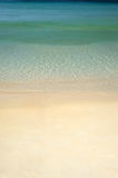 Simple tropical sea and sand vertical Stock Photography
