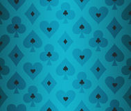 Simple turquoise poker background with transparent Royalty Free Stock Photos