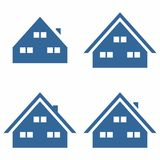 Simple Home/House Symbol Royalty Free Stock Photography