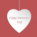 Simple Valentine Day greeting Royalty Free Stock Photo