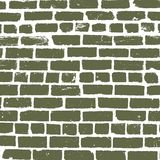 Simple vector background of old brickwork design Stock Photography