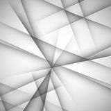 Simple vector background of straight gray lines Stock Image